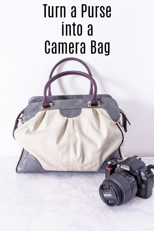 How to make your own purse camera bag