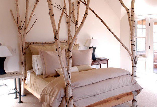 Birch Tree Home Decors DIY Projects Craft Ideas   How To s for Home     birch tree DIY room decor  see more at https   diyprojects com
