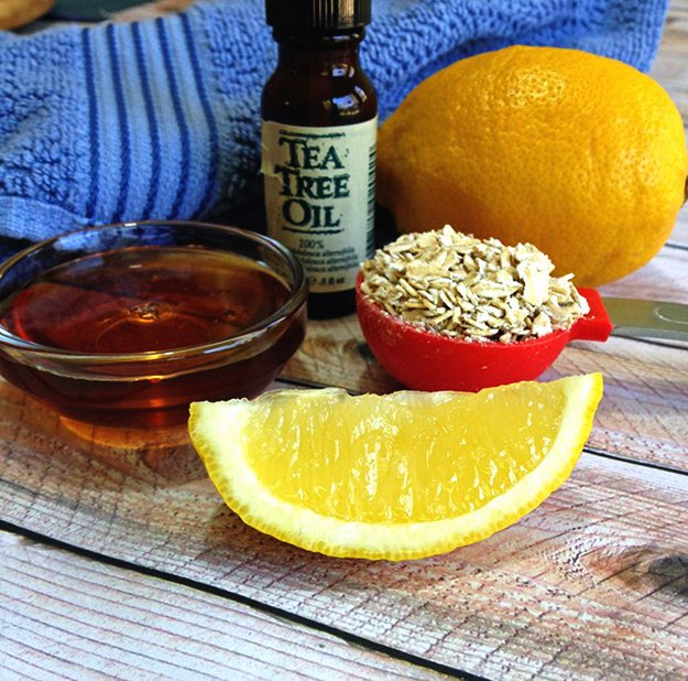 homemade scrub