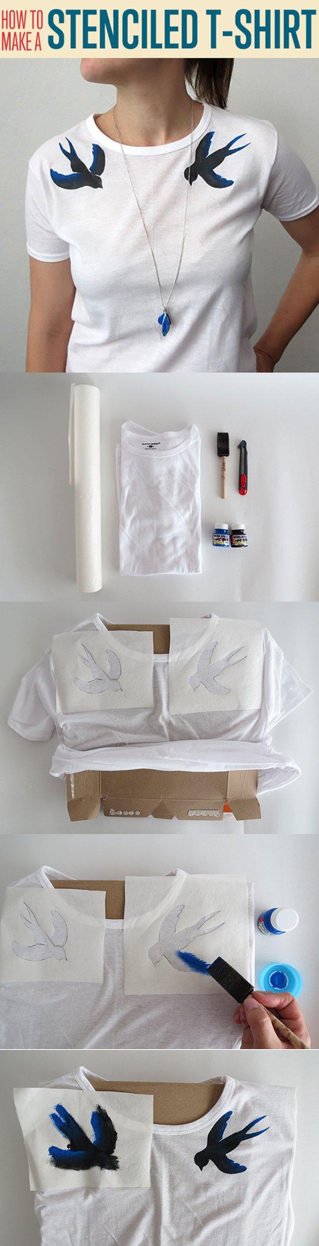 Simple DIY Top Design for Women | diyready.com/diy-clothes-sewing-blouses-tutorial/