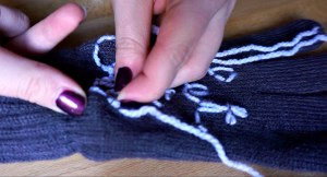 Sew on your design
