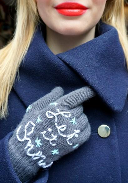 Very easy DIY gloves crochet