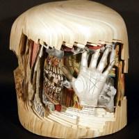 Des Livres transformés en Sculptures. SUPERBE!