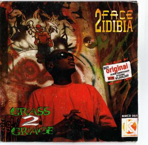 2face idibia grass to grace artwork THROW BACK ~ 2face Idibia ONE LOVE + SEE ME SO