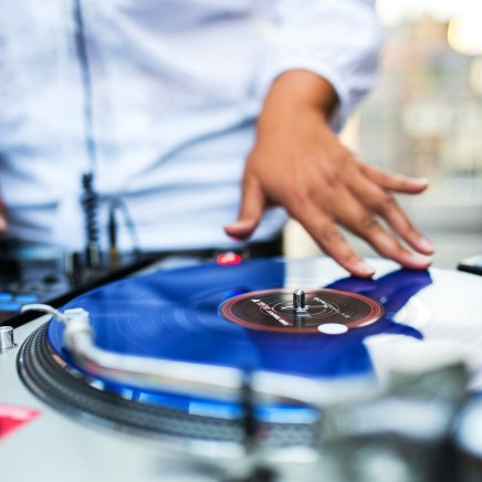 DJing over the Madison Square Garden Rooftop Urban Sproule