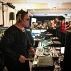 DJ & Drummer in action at Studio 450