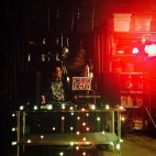 DJing Heritage Radio Network Holiday event at Brooklyn Kitchen NYC