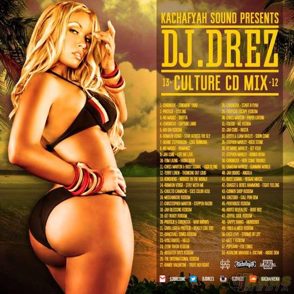 DJ DREZ - CULTURE CD MIX ARTWORK