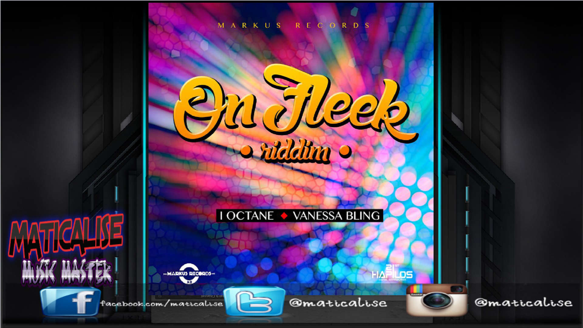 On Fleek Riddim Mix (Markus Records) April 2015