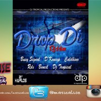 Drop Di Riddim Mix (DJ Tropical Productions) August 2015