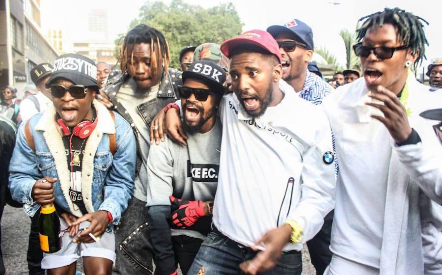 En novembre dernier le collectif sud africain boyzn bucks avait