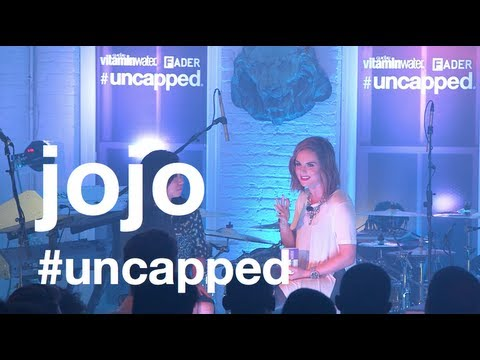 JoJo interview and performance with Fader