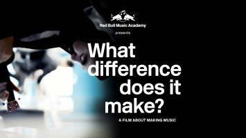 A Film About Making Music presented by Red Bull Academy (Video)