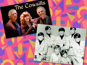 The Cowsills are the youngest band on the Happy Together ticket. They were kids when their popularity peaked in the late 1960s.