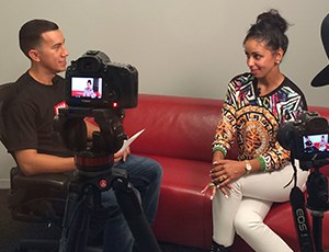 DJ Seize Interviews Mya