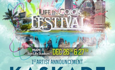 Life in Color Miami Kaskade Announce