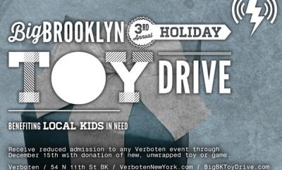 Big Brooklyn Holiday Toy Drive
