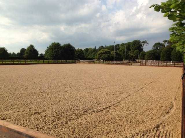 Equestrian surface drainage