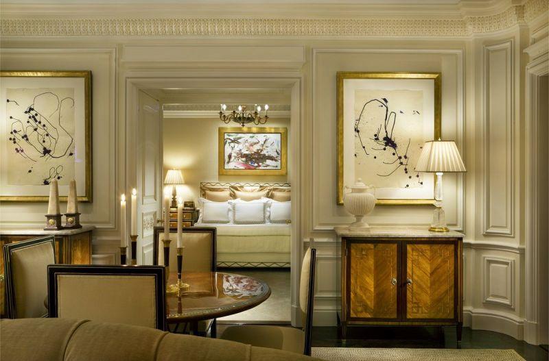 Adorable Fifth Avenue Classical Design Living Through To Master Bedroom Fifth Avenue Classical Design Dk Decor Interior Design Styles Small Living Room Interior Design Styles Living Room