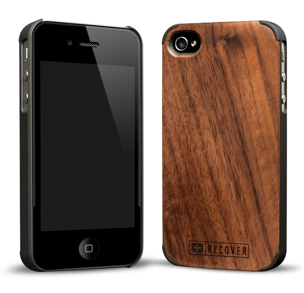 Recover iPhone 4 Real Wood Cases