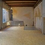 De nieuwe houten vloer