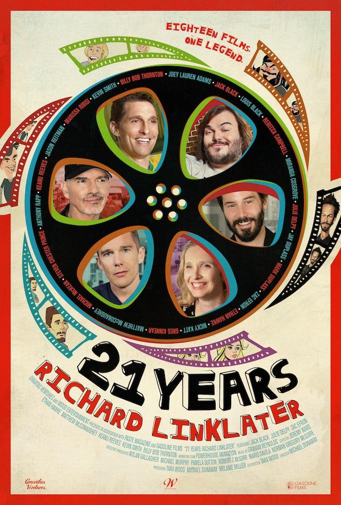 Poster do filme 21 Anos de Richard Linklater