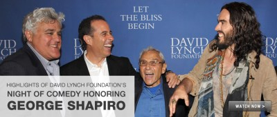 Highlights of David Lynch Foundation's Night of Comedy Honoring George Shapiro