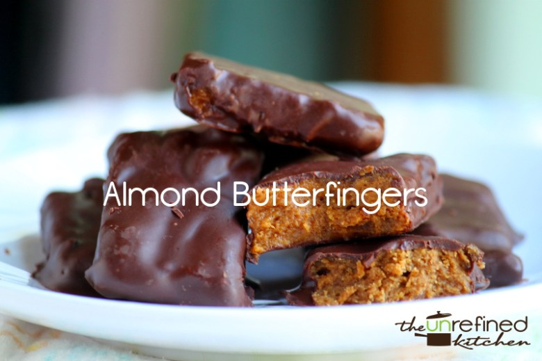 Paleo Easy Butter Fingers Candy