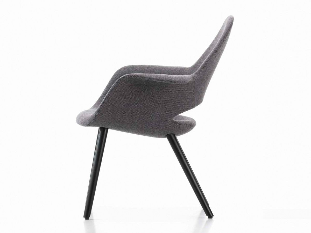 Eye Reading Chair Vitra Organic Chair Buy Vitra Organic Chair At Black Mountain Reading Chair Ottoman Black furniture Black Reading Chair