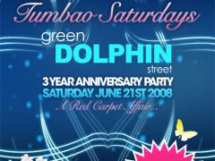 6/21 – Tumbau Saturdays – 3 Year Aanniversary Bash, Green Dolphon Street, Chicago