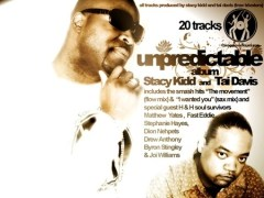 Stacy Kidd & Tai Davis UNPREDICTABLE (Full Album) Out Now on Traxsource.com