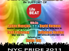 6/23 Devotion & Lifebeat ~ Jellybean Benitez, David Harness, Ruben Mancias, Tedd Patterson – NYC