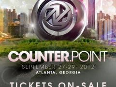 CounterPoint Music Festival-Atlanta, GA Sep 27-29 2012