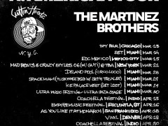 The Martinez Brothers Announce Fifteen Date North American Tour