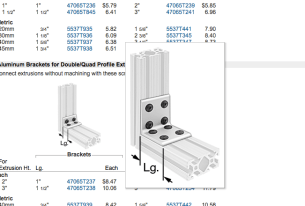 Online Research of L-Bracket