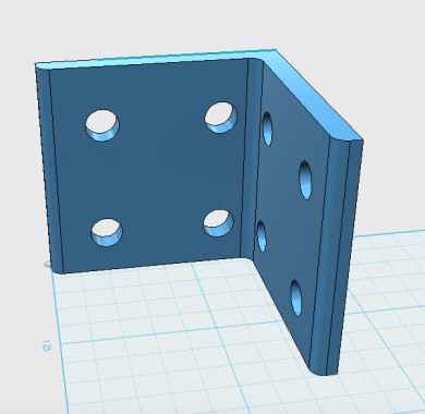 L-Bracket 3D Model View1