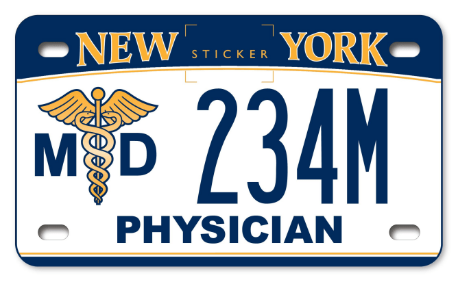Medical Doctor Motorcycle New York State Dmv
