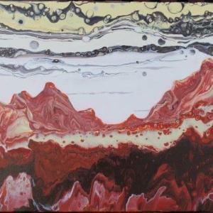 Martian Sunset I 50cm x 40.5cm
