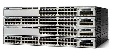 WS-C3750X-24P-S: Cisco Catalyst 3750-X Series 24-Port Switch