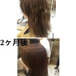 ハナヘナとDO-Sシャントリで髪質改善(東京、表参道)