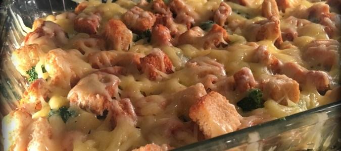 Crunchy Veggie Hot-Dish