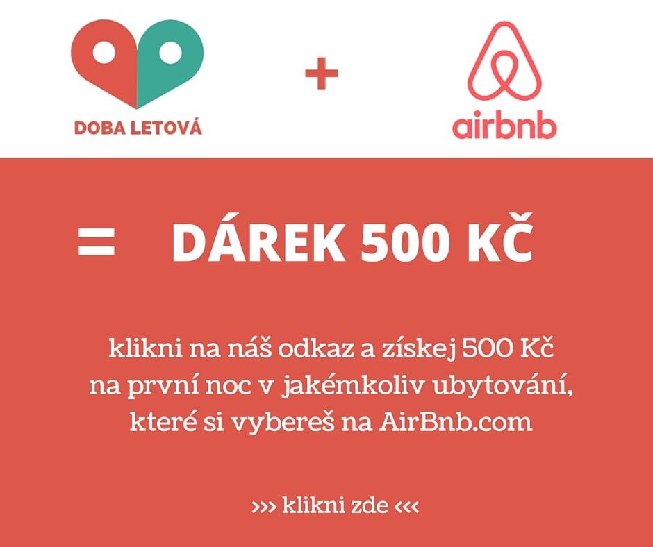 airbnb poukaz na ubytovani