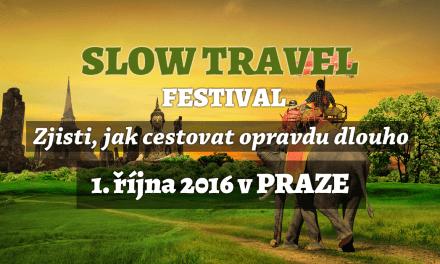 Slow Travel Festival – na opravdový cestovatelský festival se slevou 100 Kč