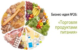 Бизнес-идея №26: «Торговля продуктами питания»