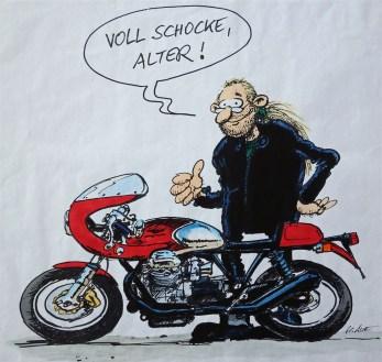 1998_ Aue-Zeichung Doc Jensen mit Le Mans II