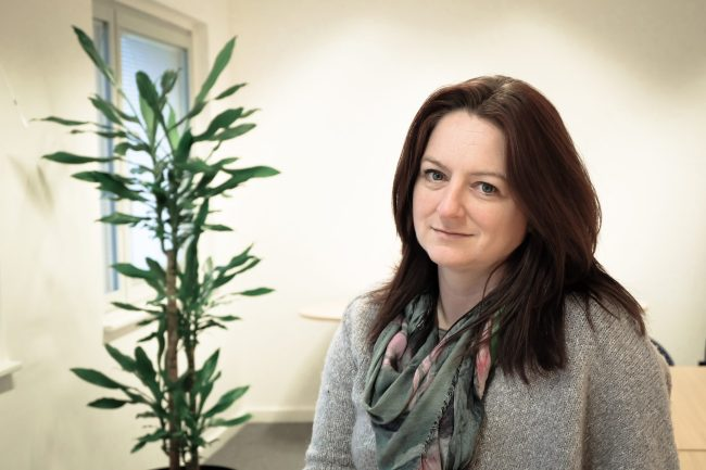 Professor Kirstie Ball at the Open University