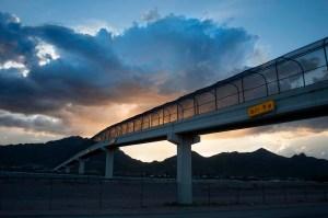 Bridge to Somewhere, El Paso, Texas. ©2015 Bruce Berman