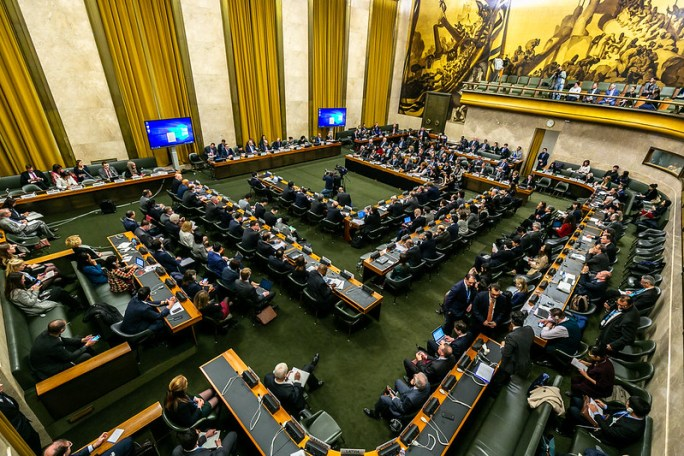 Conference on Disarmament - UNODA Meetings Place