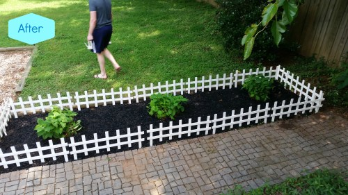 Medium Of Fence Around Garden