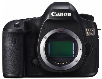 EOS 5DS BODY up FRT